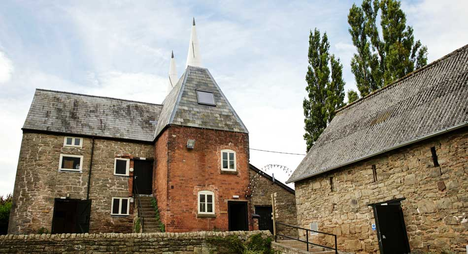 Dormitory Wedding accommodation in the Oast House Lyde Court Herefordshire