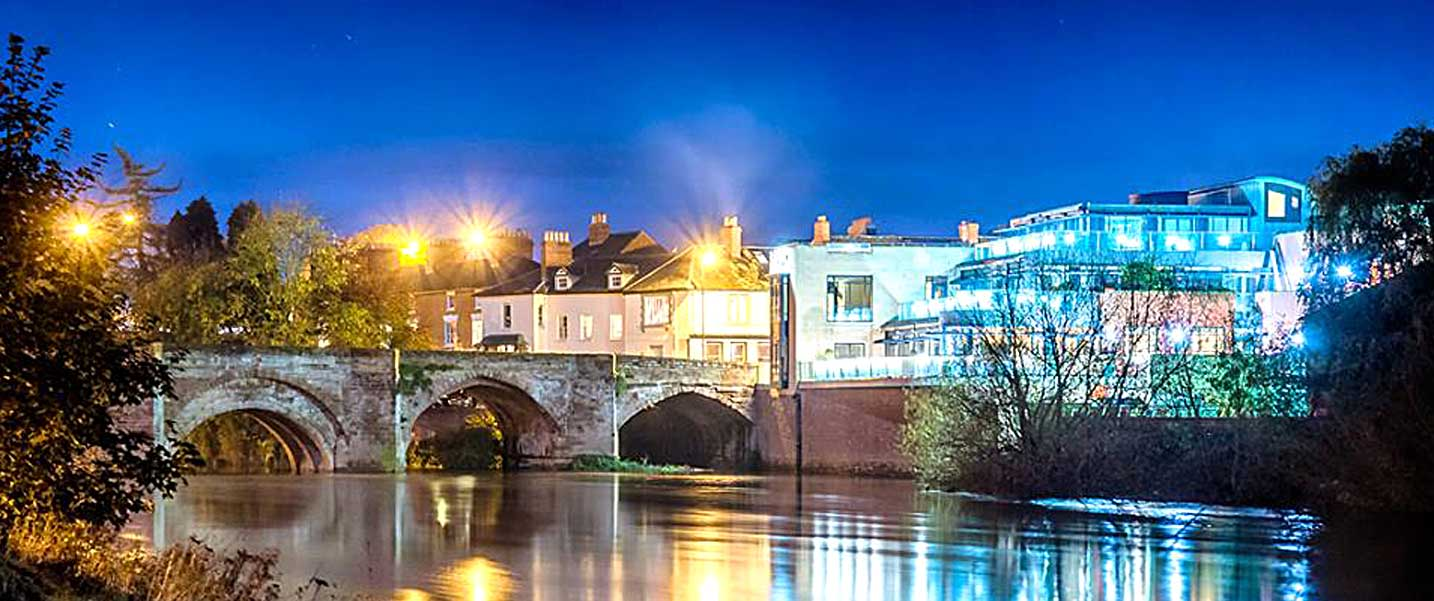 The Hereford Left Bank. The flagship venue for weddings, parties and events in Herefordshire