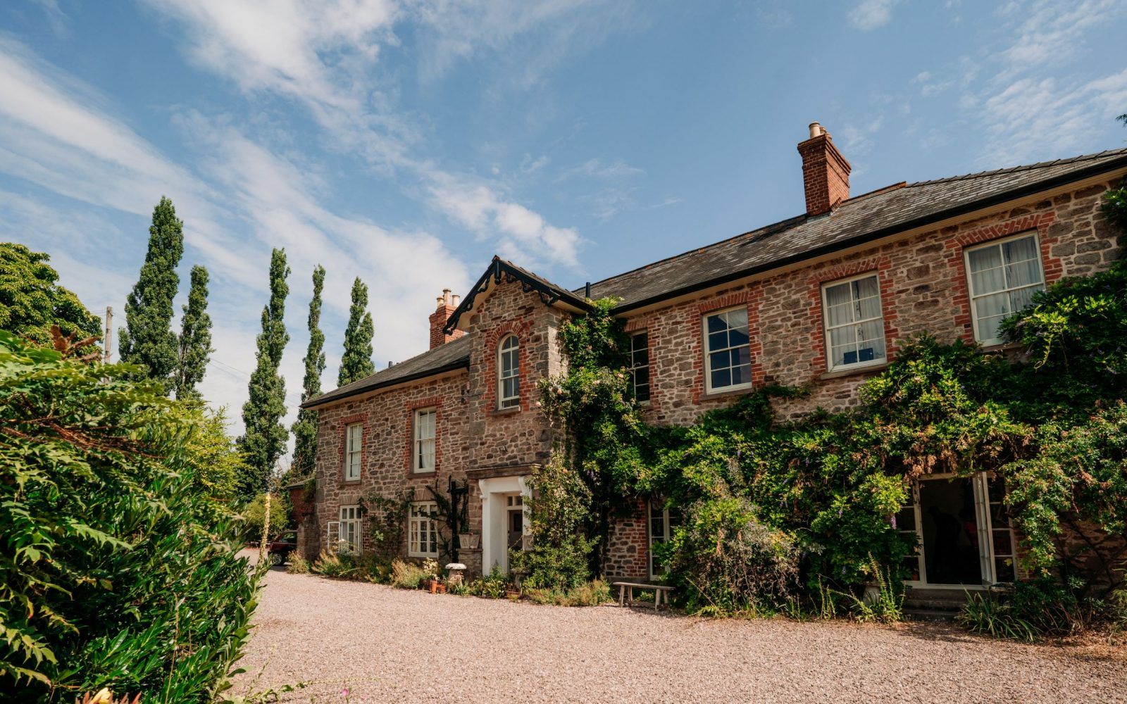 Exterior - Lyde Court Herefordshire - The Main House Wedding Venue