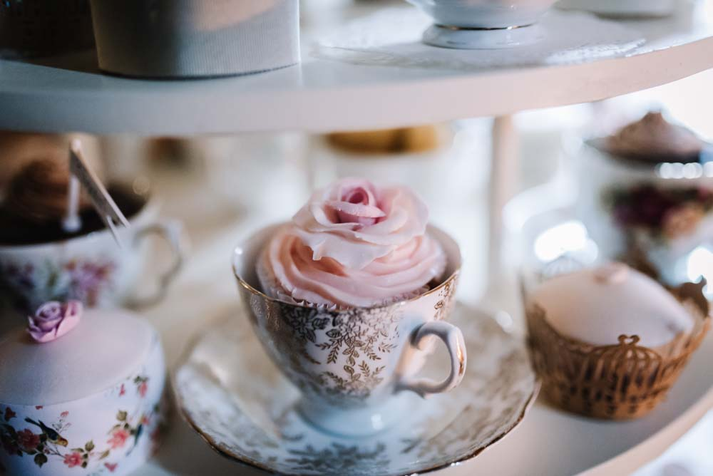 Cupcakes at Hereford Wedding Venues - Spring by Oobaloos Photography
