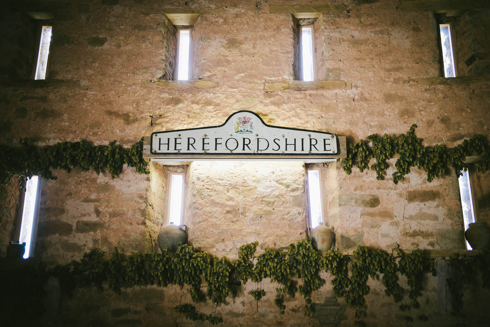 Vintage Herefordshire sign