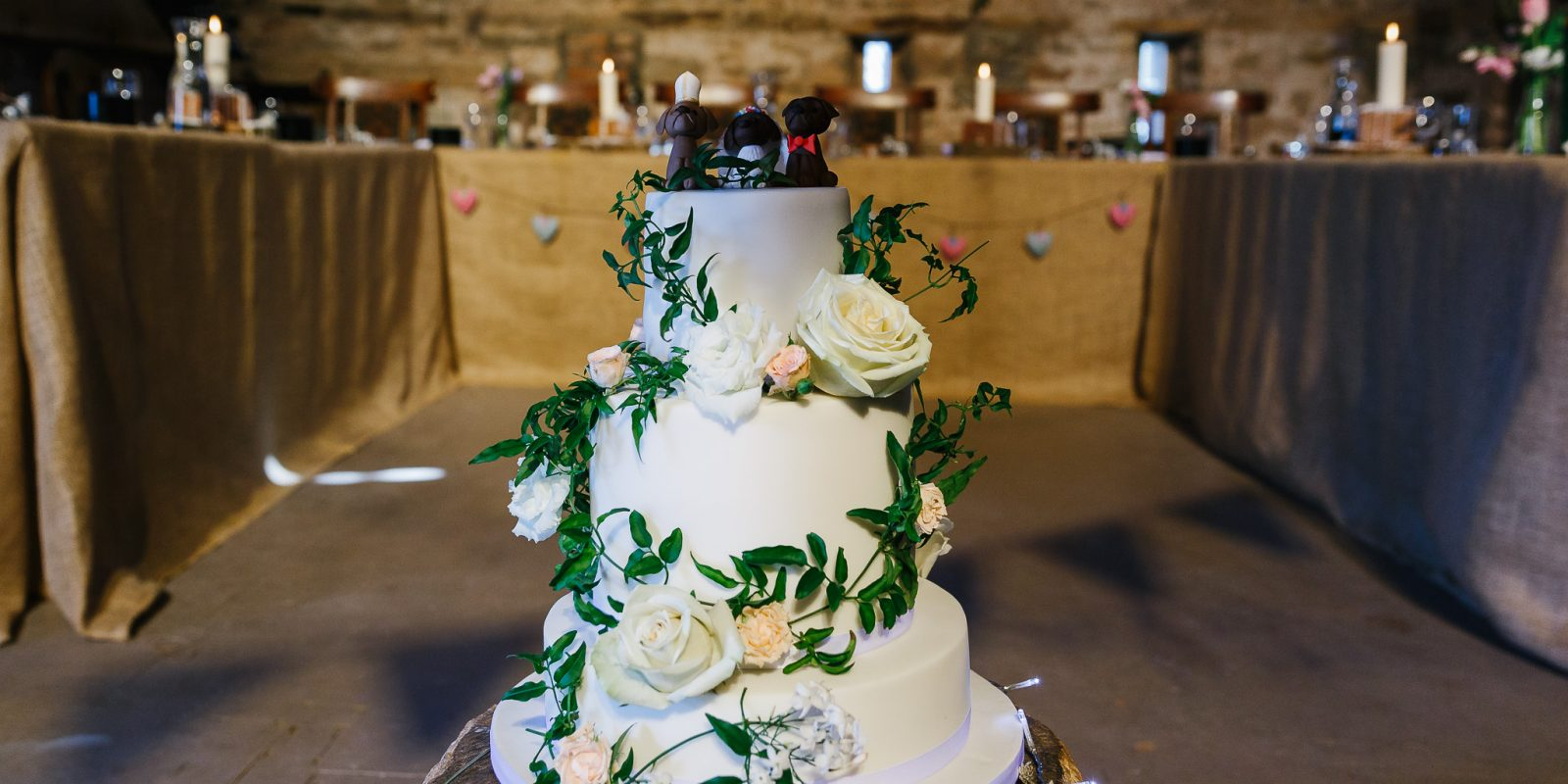 Lyde Court Wedding cake