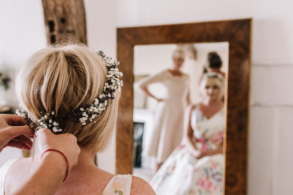 Wedding hair - Hereford Wedding Venues - Spring by Oobaloos Photography