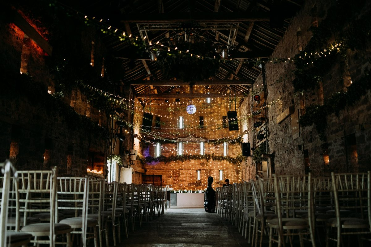 Lyde Court Barn Wedding Venue Interior